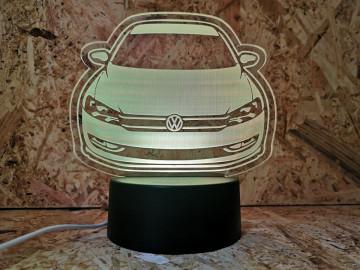 Moldura / Candeeiro com luz de presença - Volkswagen Passat B7