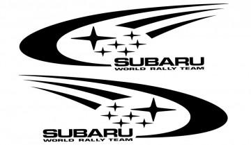 Par de autocolantes para Subaru