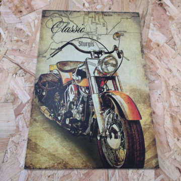 Placa Decorativa em PVC - Classic Sturgis