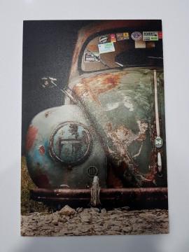 Placa Decorativa em PVC - Volkswagen Carocha