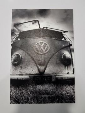 Placa Decorativa em PVC - Volkswagen Pão de forma
