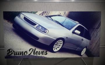 Placa em Alumínio (sandwish) com impressão directa de imagem / foto cedida pelo cliente