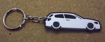 Porta Chaves com silhueta de BMW e81 - Série 1