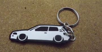 Porta Chaves com silhueta de Toyota Corolla E90
