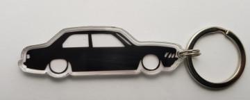 Porta Chaves de Acrílico com silhueta de BMW E21