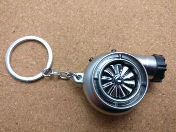 Porta Chaves - Turbo Cinza Matte - Electrónico (Recarregável) - Com Isqueiro