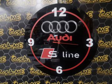 Relógio com Audi S-Line