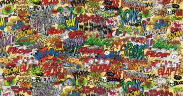 Sticker Bomb - Variado - 25x48