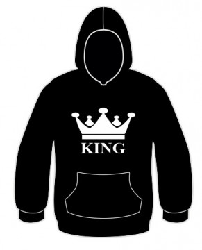 Sweatshirt com capuz - King