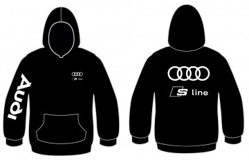 Sweatshirt com capuz para Audi S line
