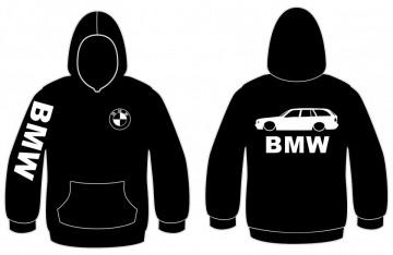 Sweatshirt com capuz para Bmw E34 Touring
