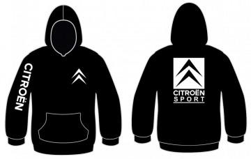 Sweatshirt com capuz para Citroen Sport