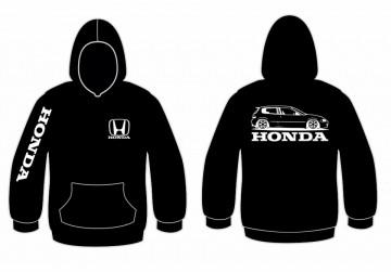 Sweatshirt com capuz para Honda EG6