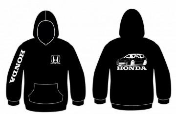 Sweatshirt com capuz para Honda EG