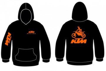 Sweatshirt com capuz para KTM Mota