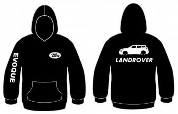 Sweatshirt com capuz para Land Rover Evoque