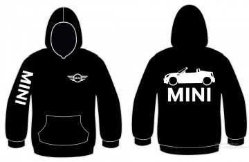Sweatshirt com capuz para Mini ONE Cabrio
