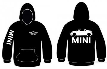 Sweatshirt com capuz para Mini ONE Cabrio