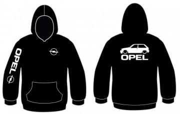 Sweatshirt com capuz para Opel Corsa A