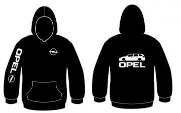Sweatshirt com capuz para Opel Vectra C