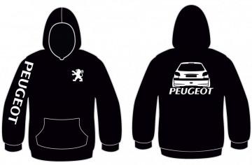 Sweatshirt com capuz para Peugeot 206
