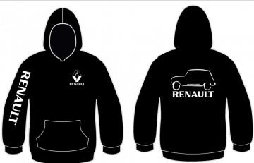 Sweatshirt com capuz para Renault - 4L