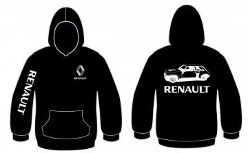Sweatshirt com capuz para Renault 5