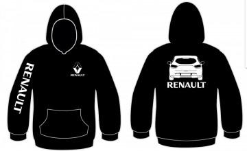 Sweatshirt com capuz para Renault Clio 4