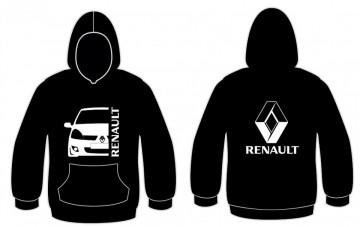 Sweatshirt com capuz para Renault Clio MK2 Fase 2