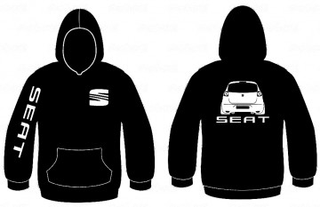 Sweatshirt com capuz para Seat Altea