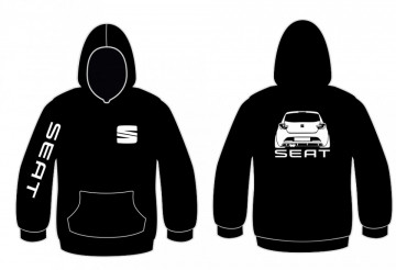 Sweatshirt com capuz para Seat Ibiza SC