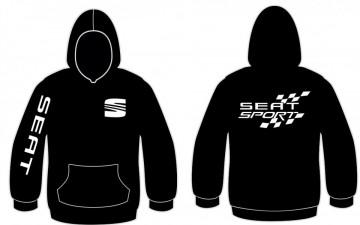 Sweatshirt com capuz para Seat Sport