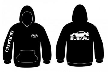 Sweatshirt com capuz para Subaru impreza WRX STi 3
