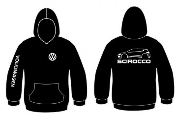 Sweatshirt com capuz para Volkswagen Scirocco