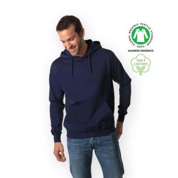Sweatshirt com capuz sem personalização