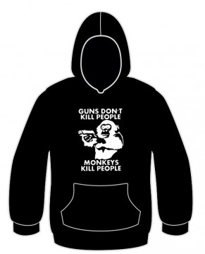 Sweatshirt para Guns dont kill peopple monkey kill people 1