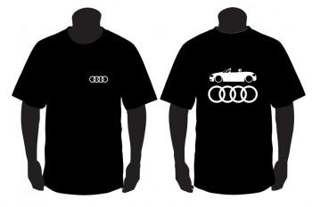 T-shirt para Audi TT 8N Cabrio