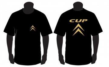 T-shirt  para  Citroen CUP