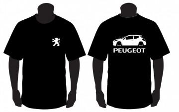 T-shirt para Peugeot 207