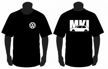 T-shirt  para VW golf MK1