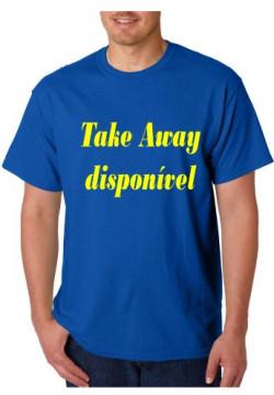 T-shirt  - Take away Disponivel