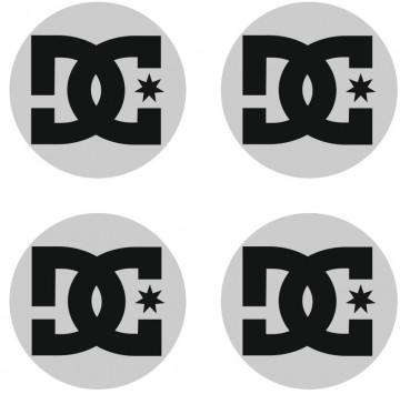 4 Autocolantes Para Centros de Jantes com DC