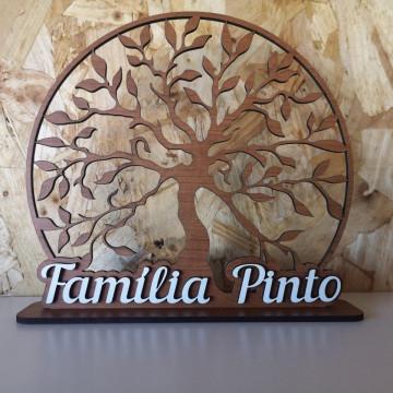 Árvore da vida com nome de família