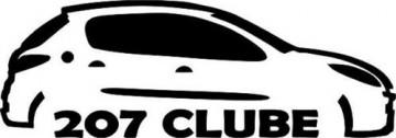 Autocolante - 207 Clube