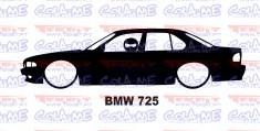Autocolante - BMW 725 Com Stig