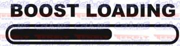 Autocolante - Boost loading