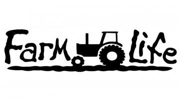 Autocolante com farm life