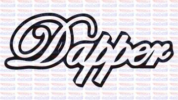 Autocolante -  Dapper