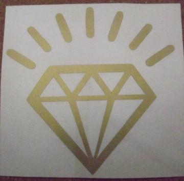 Autocolante - Diamante