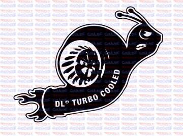 Autocolante - DL Turbo Cooled.
